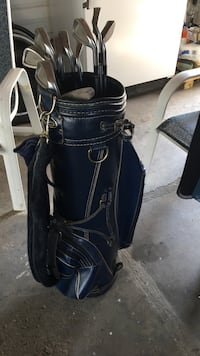 All irons for a set but no drivers. Includes bag. $40 OBO Newton only. Pickup only Newton, 50208