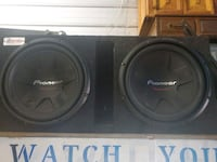 """12"""" pioneer competition subs Sioux Falls"""