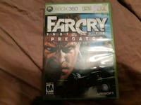 Xbox 360 Farcry 4 game case Waterloo, N2J 2A2