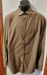 Banana Republic Brown Button-Down Long Sleeve Shir Middletown, 21769