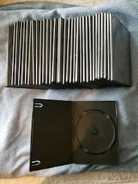 (33) Slim DVD Cases - Excel Cond