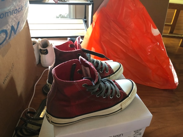 921161e0a21 Used Converse shoes red for sale in San Jose - letgo