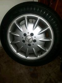 Mercedes Benz rims and tires Baltimore