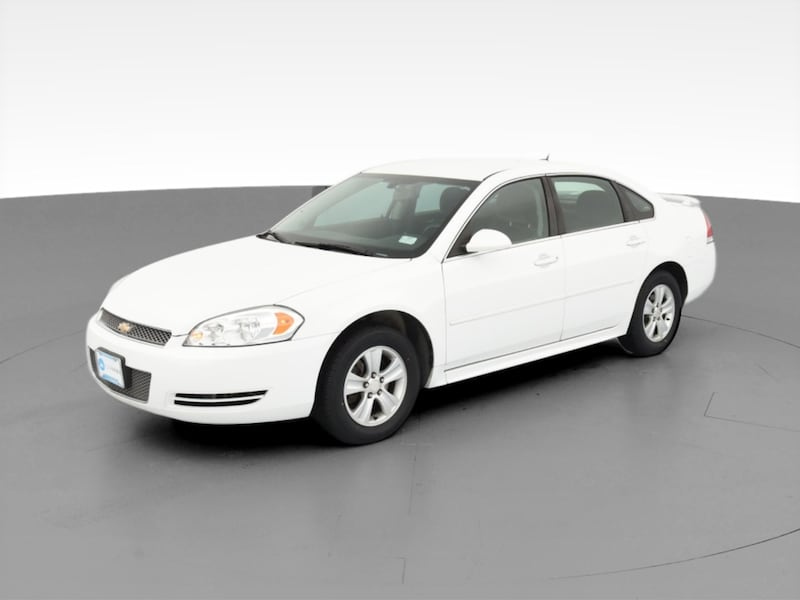 2014 Chevy Chevrolet Impala Limited sedan LS Sedan 4D White  2