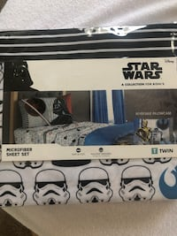 Brand new twin size Star Wars sheet set. Fort George G Meade, 20755