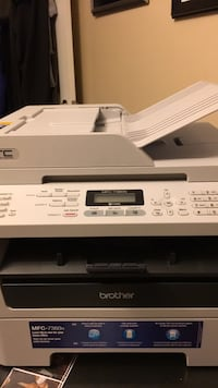 white and black Brother multi-function printer Vaughan, L4J 8R3