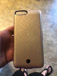gold iPhone 7 plus case Stanton, 90680
