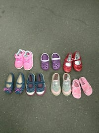 Little girls shoes size 7 shoes and sandles size 4 Aloha, 97007