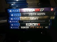assorted Sony PS4 game cases Copperas Cove, 76522