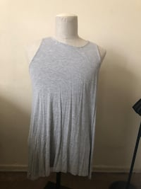 Women's gray scoop-neck shirt Spring Valley, 10952