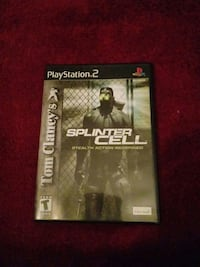 Splinter cell play station 2 game Hickory, 28601