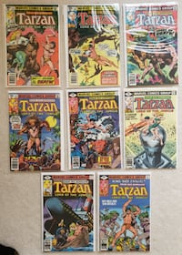 Tarzan (Marvel) comic lot (8 books) Mount Airy