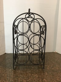 Wrought Iron 6 Bottle Wine Rack  Manassas, 20112