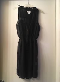 Women's Size Small Black Button Up Dress Upland, 91786