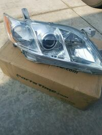 gray and black car headlight 2344 mi
