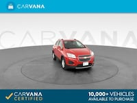 2015 Chevy Chevrolet Trax hatchback LT Sport Utility 4D Red Brentwood