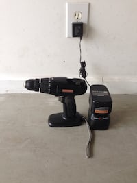 black and gray Porter Cable cordless power drill Methuen, 01844