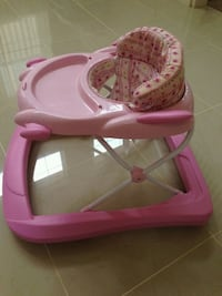 pink and white high chair San Francisco, 94133