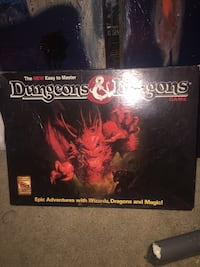 Vintage dungeons and dragons board game Tulsa, 74105