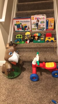 toddler's assorted toys Hilliard