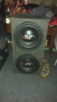 black and gray subwoofer speaker Norfolk, 23505