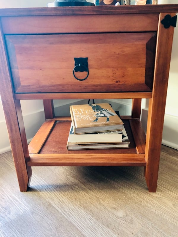 Cherrywood Side Table  0