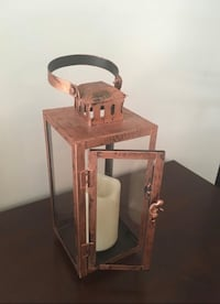 Rustic copper lantern with light Baltimore, 21230