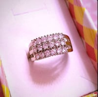 18k white gold plated statement ring Bethesda, 20814