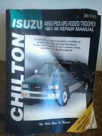 Isuzu -  Chilton Repair Manual - 1981-96 1638 mi