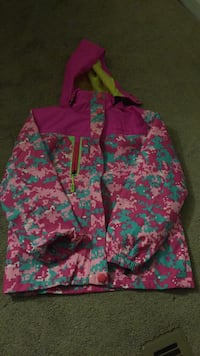 pink and blue floral zip-up hoodie Schenectady, 12308