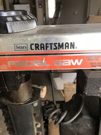 Black and red craftsman power tool Bay City, 77414