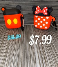 New! Mickey and Minnie Airpod 1&2 Case!!