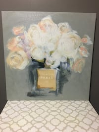 Floral Paris Canvas Port Colborne, L3K 2W6