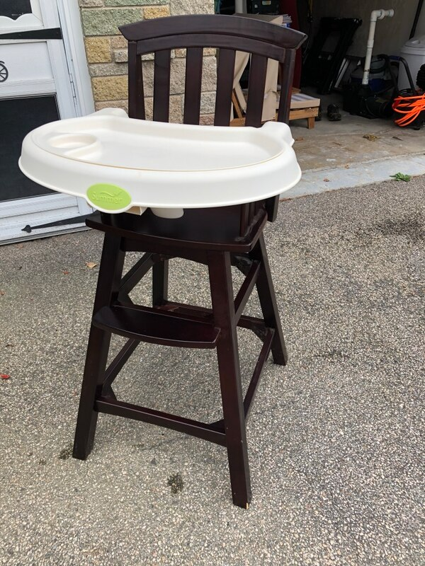 1d604356cc6a Used Summer Infant High Chair for sale in West Warwick - letgo