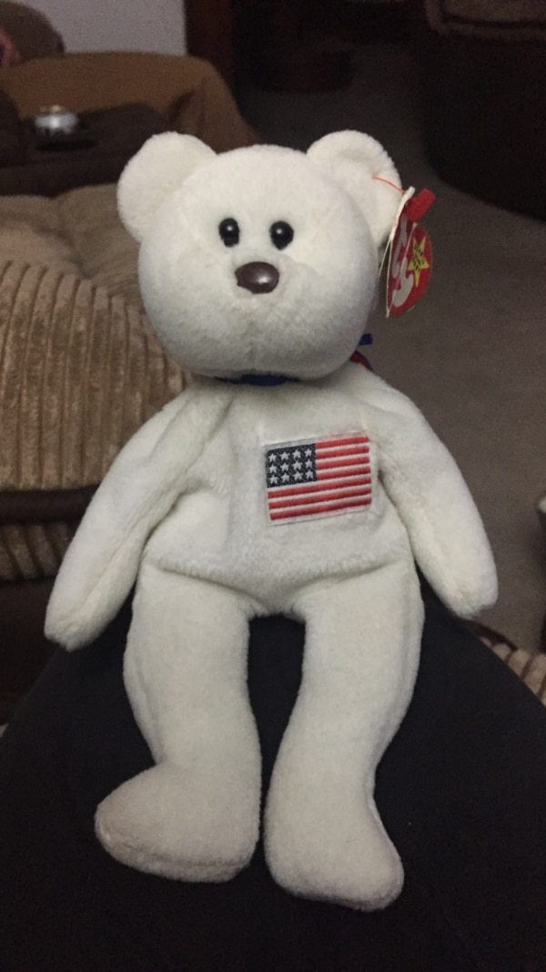 Used Rare libearty beanie baby tag is a little bent but still attached for  sale in Gloucester - letgo 25f0d09c6ccf