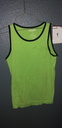 yellow and black tank top Odessa