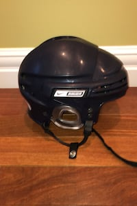 Adult Bauer Hockey helmet $15 plus 1 Bauer neck protector for $5 Edmonton, T6R 0B1