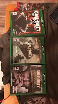 Xbox one games Sussex, 07461