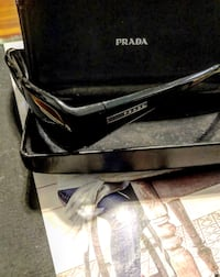 PRADA Sunglasses Spr03e 1ab-1a1 Italy Black W/ Case originally paid over $200 Washington, 20002
