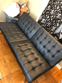Black Leather Futon  Annandale, 22003