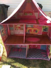 brown and pink doll house Sherwood Park, T8H 2V8