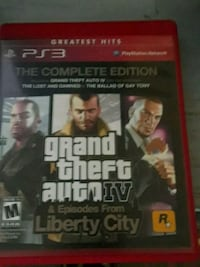 Grand Theft Auto IV PS3 game case Springdale, 72764