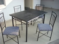 table with four chairs Modesto
