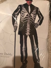 Men's Bone Daddy Costume  Cleveland, 37312