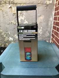 Two in One can crusher Fort Washington, 20744
