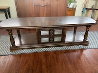 Wood Coffee table and 2 end tables Schenectady, 12305