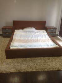 bed frame and mattress Mississauga, L4W 2E5
