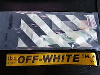 Brand New Off White Yellow Industrial Belt Unisex Toronto, M6A 2S6
