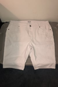 All white shorts size 18