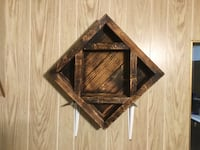 Hand made wall shelf made in Montana  Stanford, 59479